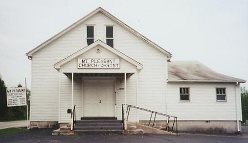 Mt. Pleasant Church of Christ, 1890 building